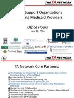 Office Hours FSO Medicaid 6.10.14 (slides)
