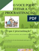 #procrastinação