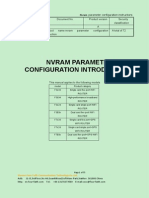 Nvram Parameter Configuration Instructions