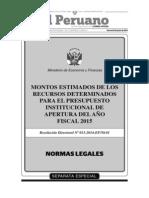 Separata Especial Normas Legales 26-06-2014 [TodoDocumentos.info]