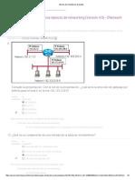 CCNA Exploration Aspectos Básicos de Networking (Versión 4.0) - Enetwork Informe de Comentarios de Puntos 5