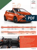 Toyota Aygo - Akciový Cenník Jún 2014