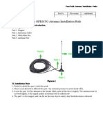 Four-Faith GPRS&3G Antenna Installation Rule