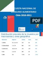 Encuesta Nacional de Consumo Alimentario 2010 2011
