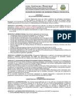 11. Reglamento de Bienes de Dominio Público (Concejo en Comisiones - Modif. Aprobado)