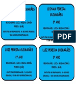 Adesivos Identificação Léo e Luiz.2014