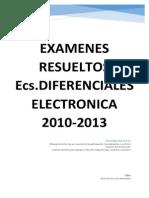 Examenes Resueltos Ec Dif Electronica 2010-2014