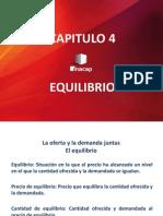 CAPÍTULO 4 EQUILIBRIO