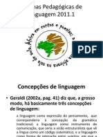 Oficinas Pedagógicas de Linguagem 2011 (ANTIGO)