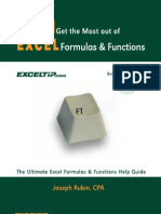 F1 - Get the Most Out of Excel Formulas and Functions