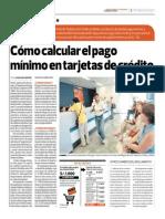 Cómo Calcular El Pago Mínimo en Tarjetas de Crédito_El Comercio 28-069-2014