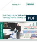 Important KPIs for the Next Day Parcel Delivery