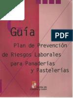 Plan de Prevención de Riesgos Laborales Para Panaderías y Pastelerías