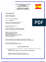 dossier de candidature à un partenariat franco espagnol
