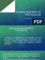 3.3 Analizadores de Protocolos