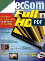 Revista VideoSom & Tecnologia - Maio 2009 - Edição n. 132