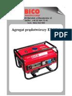 Bico Instrukcja Agregat EP2500
