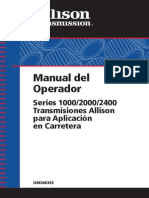 Manual de Caja Allison Ats200 Mercedes 1115