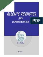 Allen's Keynotes Materia Medica