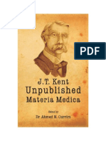 Kent Unpublished Materia Medica