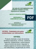 Oxydol Uso en Suelos Contaminados Con Hidrocarburo