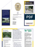 SCMPD's Road Rules Brochure