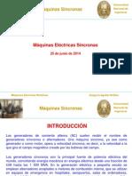 Clase N° 01 - Máquinas Síncronas- 25-06-2014