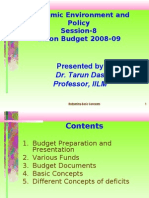 Budgeting Techniques and Fiscal Policy in India by Prof.tarun Das