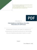 Controlul Poluarii Produselor Hortivicole