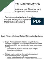 Kuliah Congenital Malformation