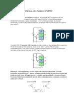 Diferença Entre Transistor NPN E PNP