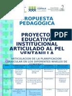 Propuesta Pedagógica
