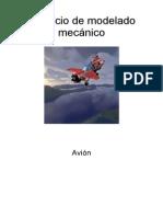 Ejericio Modelaje Mecanico Avion EXA5