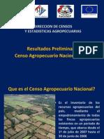 Censo Agropecuario Resultados Preliminares