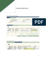 Customized Modifier