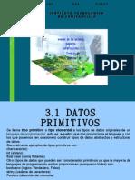 DATOS PRIMITIVOS