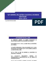 Ley 29151 - Ley General Del Sistema Nacional de Bienes