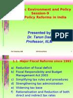 Fiscal Policy Prof. Tarun Das
