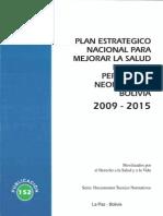 Pub 152 Plan Estrategico Nacional Salud Materna Neonatal2009-2015