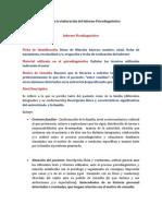 Guía de Informe Psicodiagnóstico Actualizado (1)