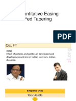 Fed Tapering and India