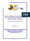Weibel - ICAT Report - UAV Safety