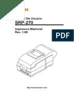 Srp-270 User Spanish Rev 1 05
