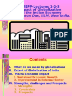 Impact of Globalization on India- Tarun Das