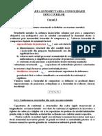EXPERTIZAREA ŞI PROIECTAREA CONSOLIDĂRII STRUCTURILOR - CURS 3