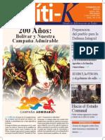 PolítiK N°1 Junio 2013 - Venezuela