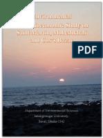 Environmental and Socioeconomic Study on Saint Martin, Moheshkhali and Cox's Bazar By Abu Khairul Bashar
