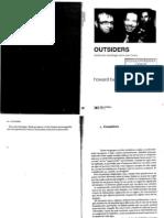 Becker, H. Outsiders. Hacia Una Sociología de La Desviación. Cap 1 y 2