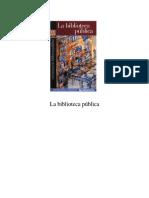 Biblioteca Public A