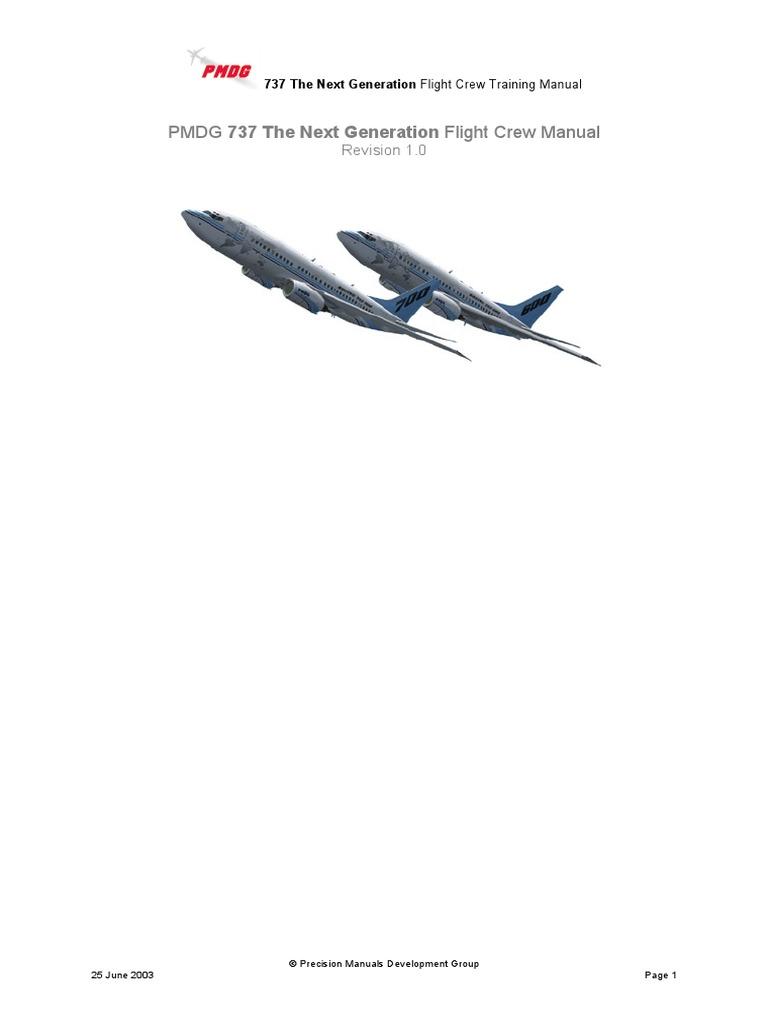 Flight Crew Training Manual (Pmdg 737 the Next Generation) | Takeoff |  Spaceflight Technologies